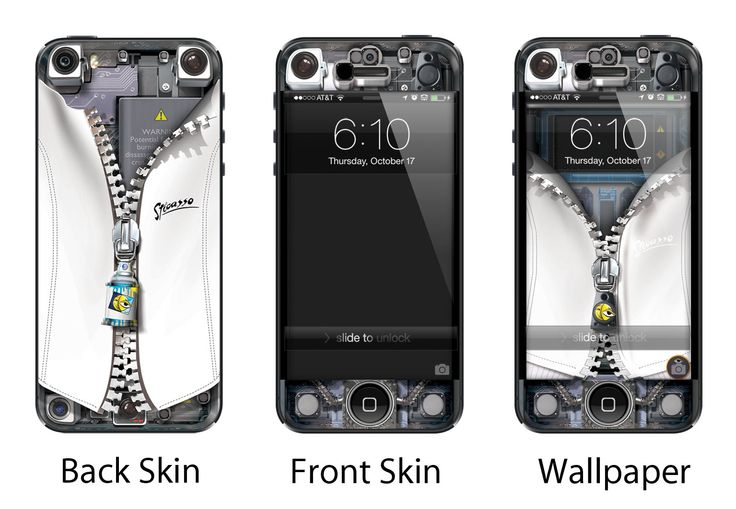 Sticasso italian sports jacket with white skin for iPhone 4/4S and iPhone 5.