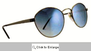 Ringo-O Small Metal Shades Sunglasses - 174 Silver