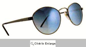 Ringo-O Small Metal Shades Sunglasses - 174 Silver