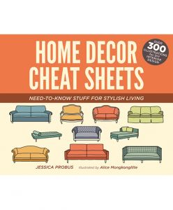 Home Decor Cheat Sheets // Book Review // @simplifiedbee