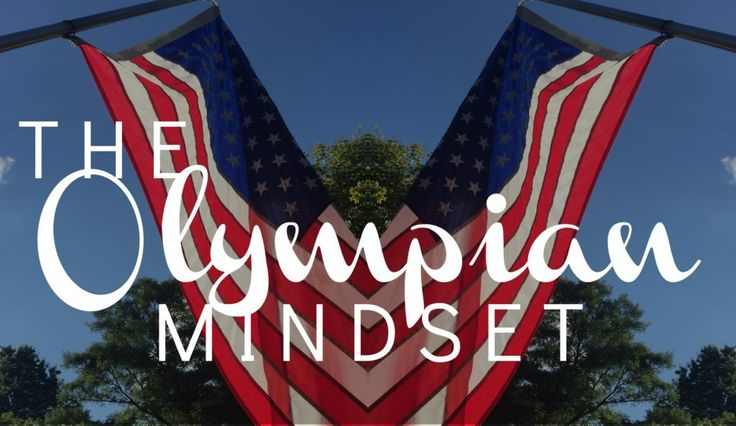 Think Like an Olympian #motivation post at www.spreadtheyay.com