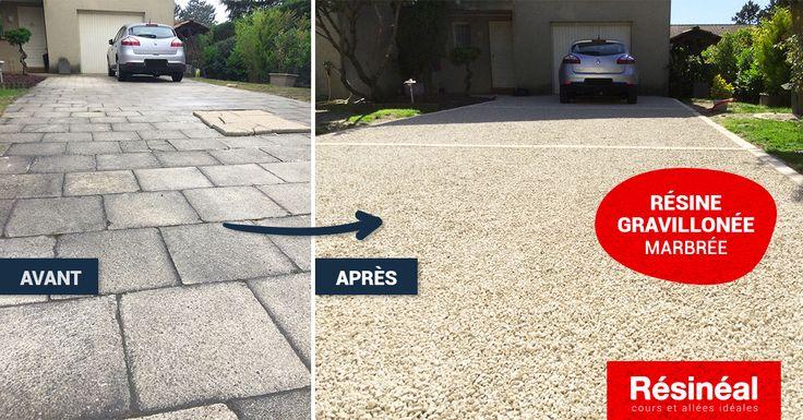 36 best Accès Garage et Stationnement images on Pinterest - Dalle Pour Parking Exterieur