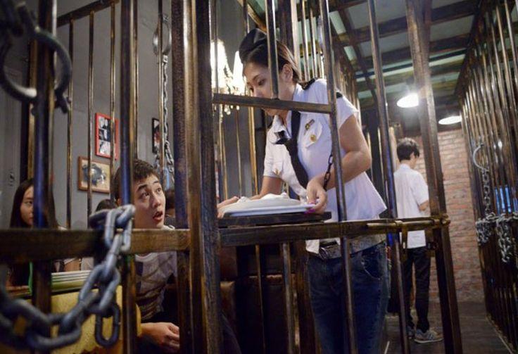 Comer en cárceles, lo último en restaurantes temáticos en China