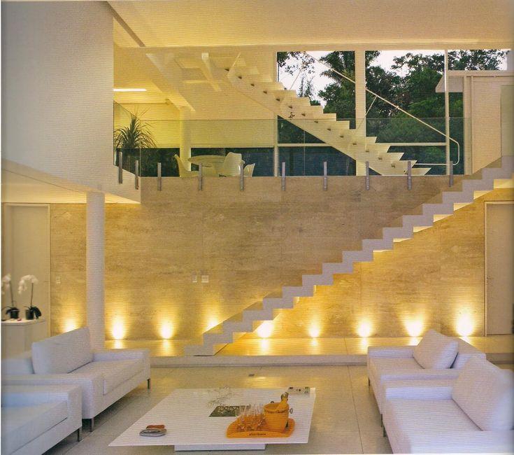 revestimento escada