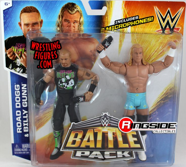 New Age Outlaws (Billy Gunn & Road Dogg) - WWE Battle Packs 32 | Ringside Collectibles
