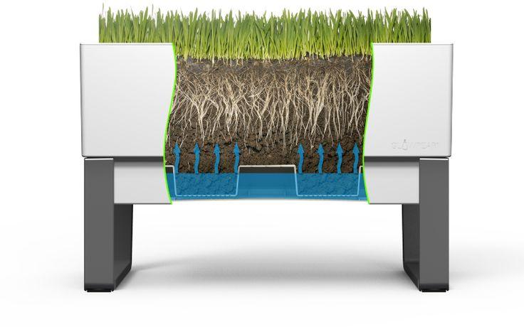 Self watering planter - self watering pot - self watering planter box