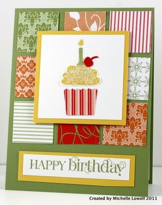 Birthday: Nice Cupcakes, Cards Cupcakes, Quilts Cards, Cards Birthday, Cupcakes Cards, Birthday Cards, Birthday Cupcakes, Art Cards Scrap, Cupcakes Punch