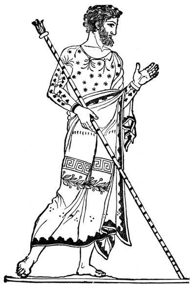 Раскрашенные картинки про древнюю грецию цари