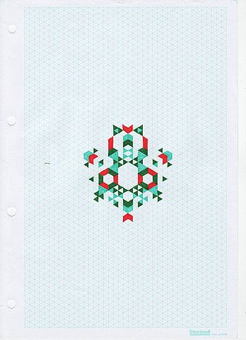 i would like to do something like this with graph paper.