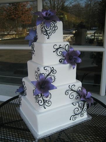 Leena Weeding Cake - West Side Bakery, Akron, OH