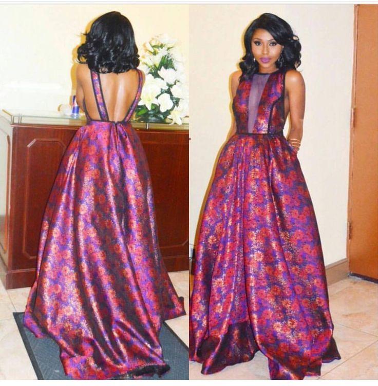 70 mejores imágenes de Evening Attires en Pinterest | Moda africana ...