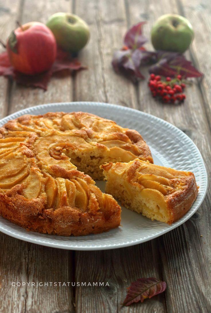 Torta di mele light evergreen ricetta della nonna facile e profumata con pochi ingredienti senza burro e uova. Perfetta per ogni occasione.
