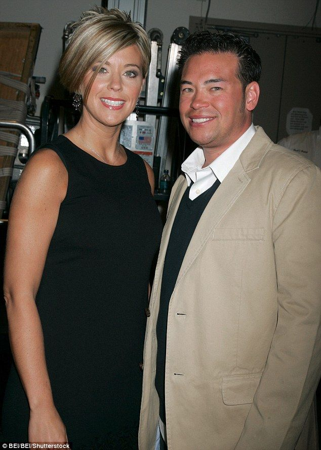 'Bad right now': Jon Gosselin recently revealed during an interview with Yahoo! Celebrity that the current situation between he and his ex wife Kate Gosselin is 'bad.' Above, the pair in 2009