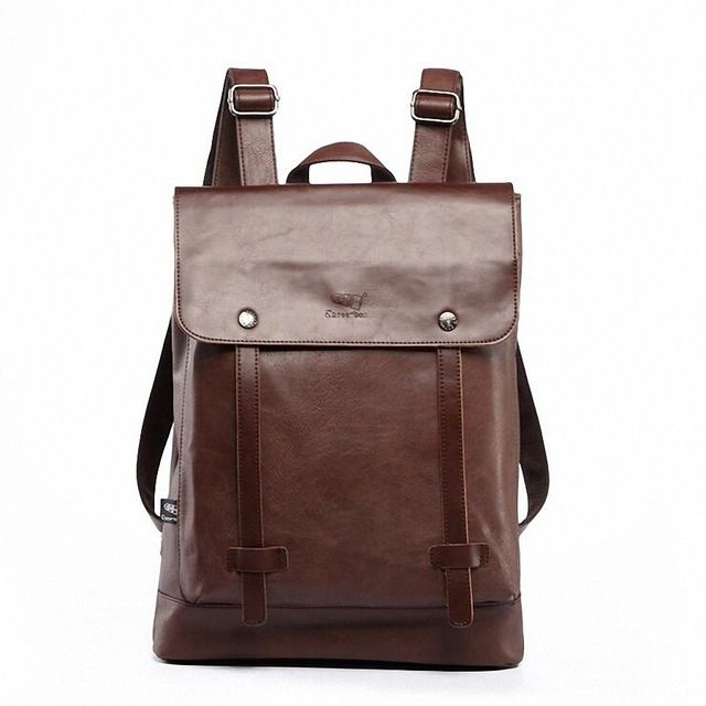 Special price Three-box 2017 Hot! Women fashion backpack male travel backpack mochilas school mens leather business large laptop bag LI-1597 just only $34.24 with free shipping worldwide  #backpacksformen Plese click on picture to see our special price for you
