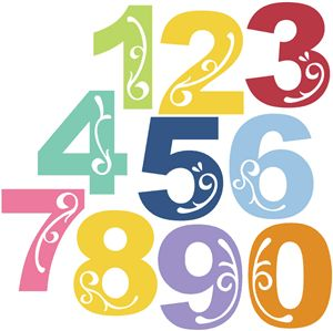 View Design: elegant alpha - numbers << Also letters, both upper- and lower-case