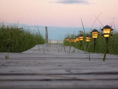 boardwalk to beach <3 sweet
