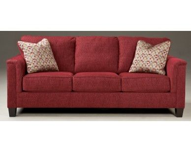 red chenille Sofa | Sofas/chairs living room | Sofa, Family ...