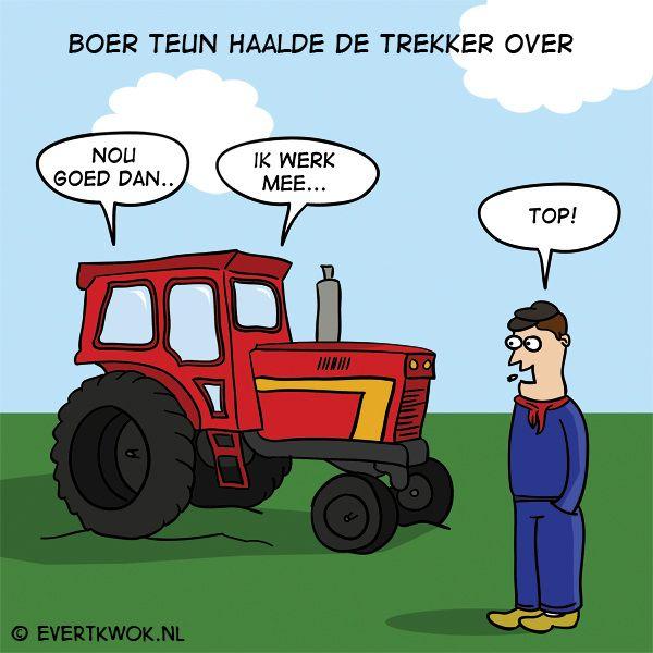 Ik zei gisteren nog tegen m'n vrouw... #cartoon -Evert Kwok