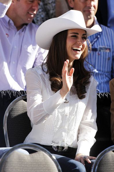 Duchess of Cambridge at the Calgary Stampede