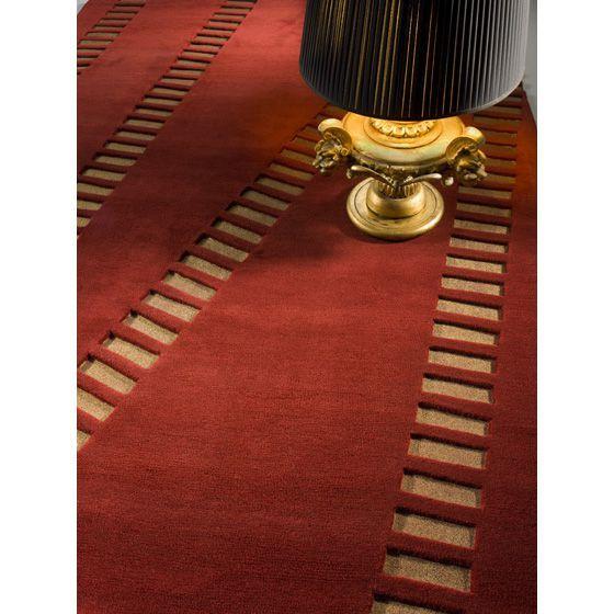 Итальянский ковер красного цвета SWING  #carpet #carpets #rugs #rug #interior #designer #ковер #ковры #дизайн  #marqi