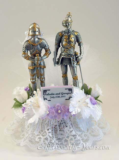 Knights Helmet Cake Topper