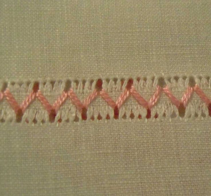 The Pleasure of embroidery: May 2012. I've never done drawn thread work but this is lovely and simple.