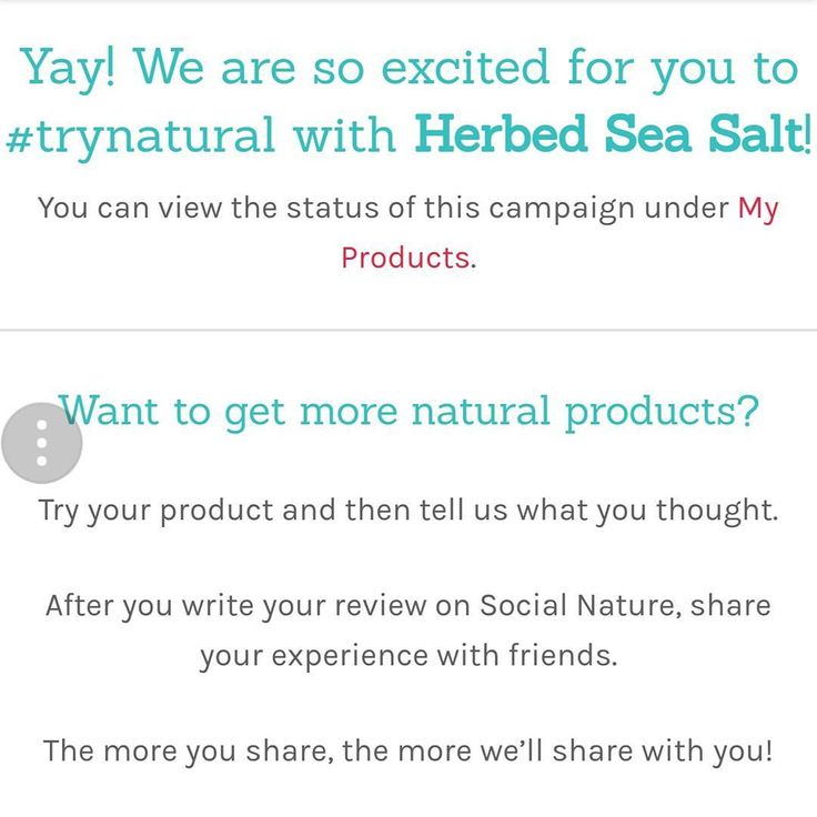 Yess, today is a great day! Just got an email from #socialnature letting me know one of my applications for a #sampleproduct has been approved! I get to try this herbed sea salt by A.Vogel. So excited to #cook with it. Sign up today and start applying for your samples. All you do in exchange is leave feedback. #ilovefreebies #freebie #food #seasalt #salt #ad #gotforfree #spice #cookingspices #free #samplecommunity #cook #breakfast #lunch #dinner #meal #mealtime #healthy #trynatural…