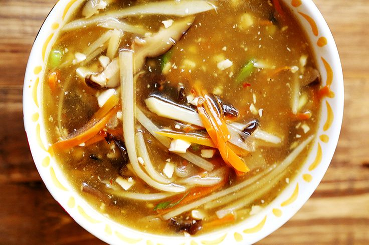 Restaurant Style Chinese Hot and Sour Soup (Vegan) | Recipe | Style ...