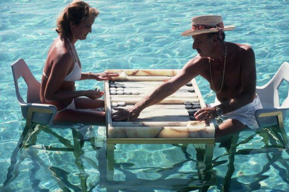 Keep Your Cool slim aarons swimming pool game photography