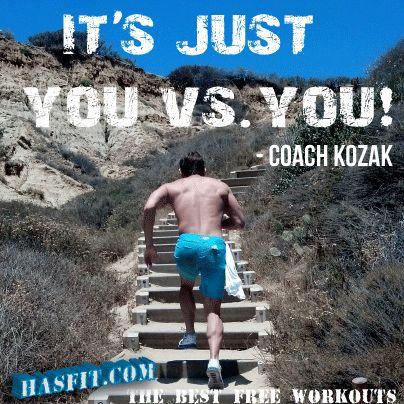 coach kozak workout motivation