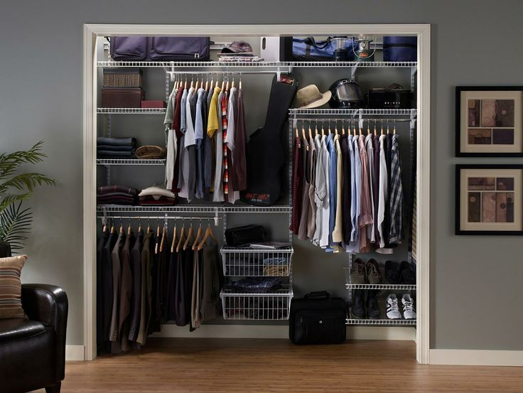 Need Help With Your Reach In Closet? ClosetMaid Offers Big Solutions For Small  Closets
