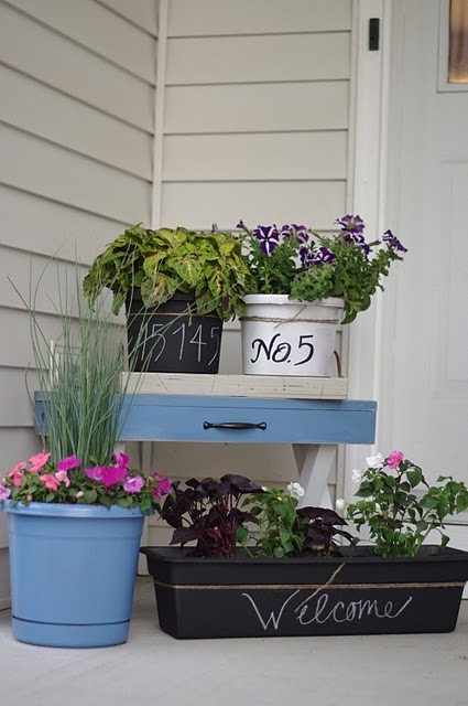 another outdoor idea. cute!