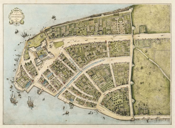 New Amsterdam in 1660