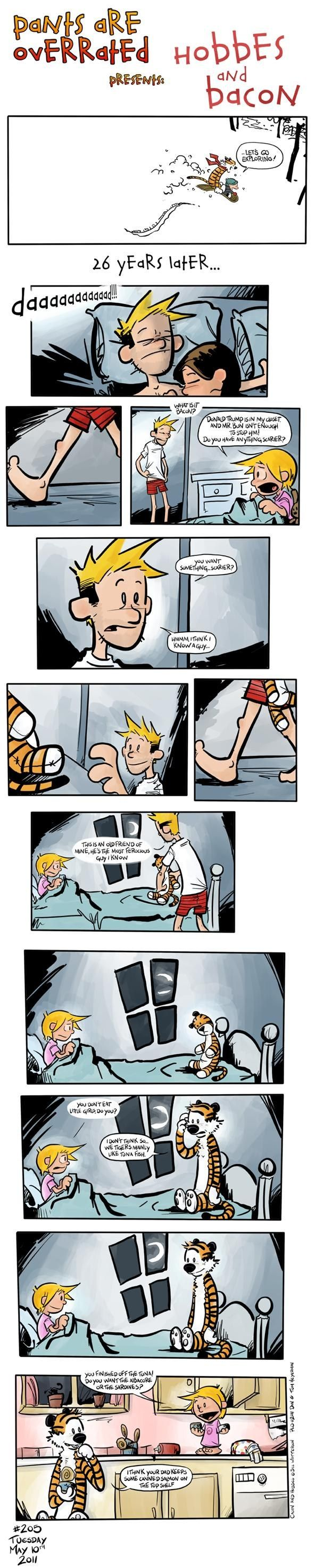 Pants Are Overrated: Calvin & Hobbes All Grown Up!