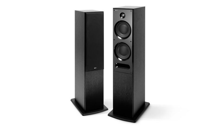 C7 -If you're serious about sound, you'll find the C7 an endlessly gratifying companion. With KEF's phenomenal 19mm tweeter and 'tangerine' waveguide complemented by a pair of large 165mm bass drivers, an intricate and disarmingly naturalistic three dimensional sound image floods the room. As with all of the new C Series models, the highly rigid cabinet is vented by a carefully contoured front port to provide a wide and extended bass. Dual binding posts allow bi-wiring/bi-amping.