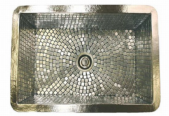 Stainless Mosaic. that's awesome!