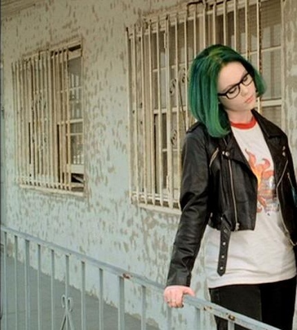 Channeling my inner... Enid - Ghost World.