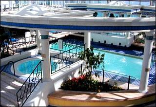 Solarium pool on Grandeur of the Seas - 2006 by sshep3, via Flickr.