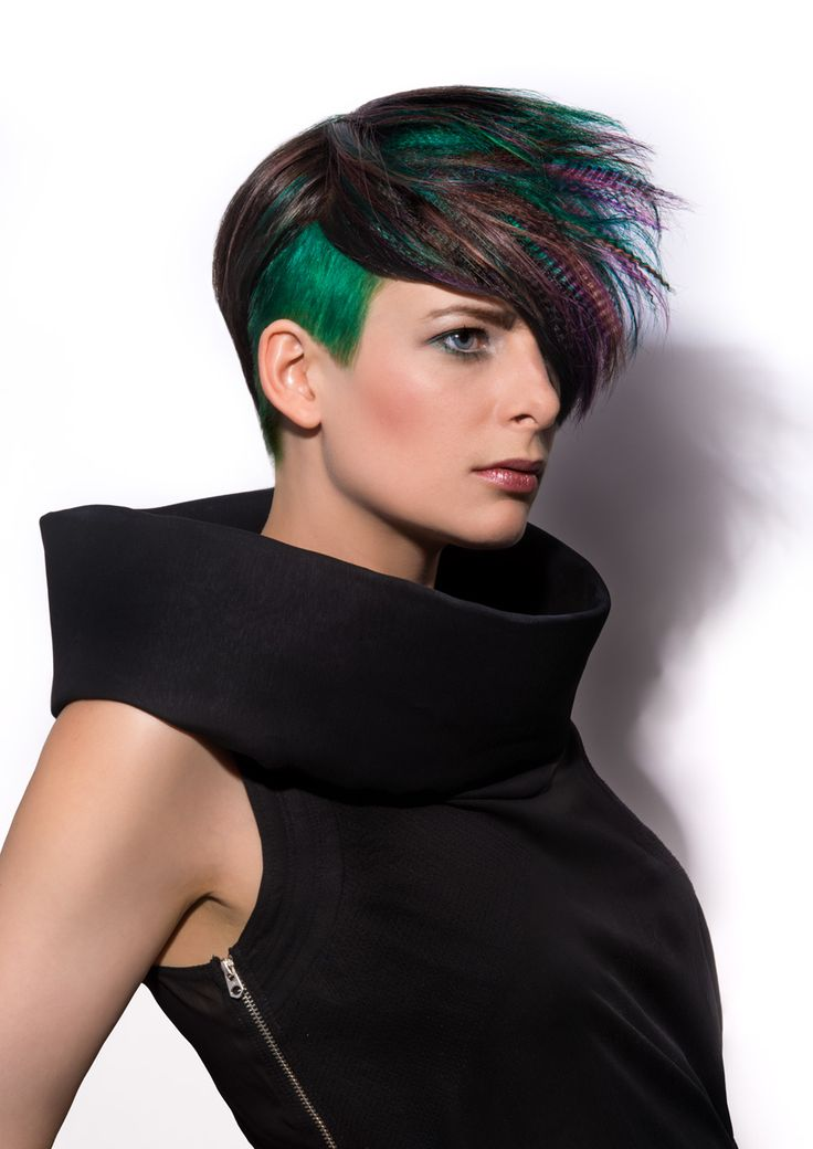 Color Zoom Challenge '14 entry for Partners Hairstyling by Inger
