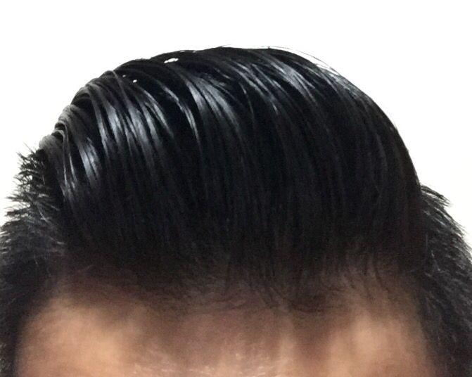 Brylcreem slick 1  Sideparts and Slickbacks  Long hair