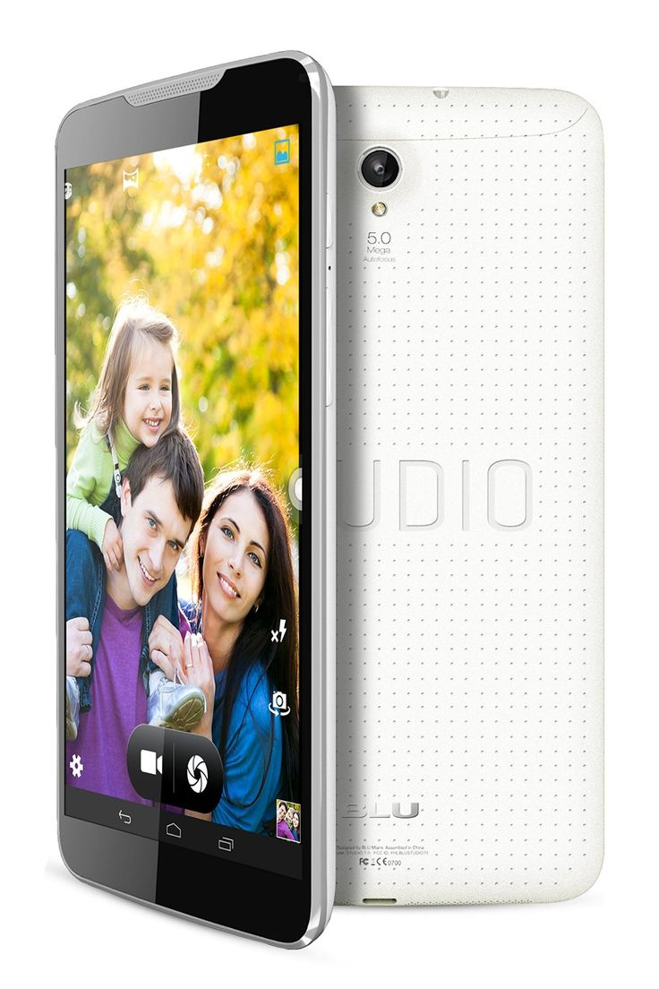 BLU Studio Unlocked 4G 7.0 inches Android 4.4 (Kit Kat) 8GB 5MP rear camera 2MP front Camera 4G HSPA+ up to 21Mbps Smartphone in White with 5% discount. Buy now online froma Amazon USA at $ 142.00 with FREE Shipping