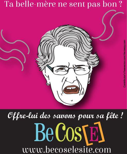 BeCos[E] souhaite une bonne fête à toutes les belles-mères ! #savons