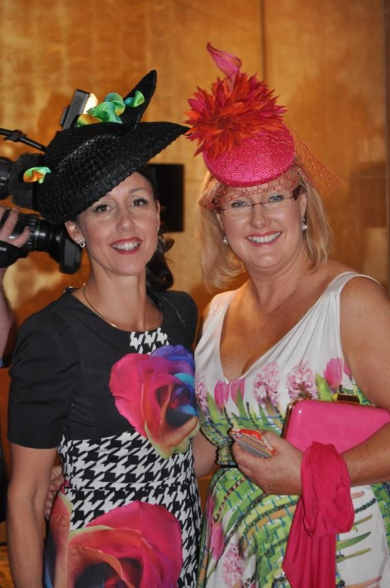 Racing Fashion at Oaks Day Luncheon at Crown
