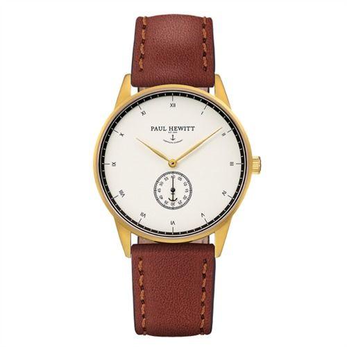 Paul Hewitt Signature Line Nautical Gold Leder 6450740 https://www.thejewellershop.com/ #paul #hewitt #paulhewitt #uhr #watch #jewelry #uhren #woman #gold #schmuck #chronograph #leder #damen