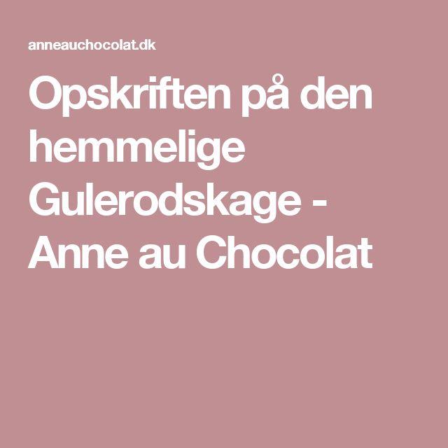 Opskriften på den hemmelige Gulerodskage - Anne au Chocolat