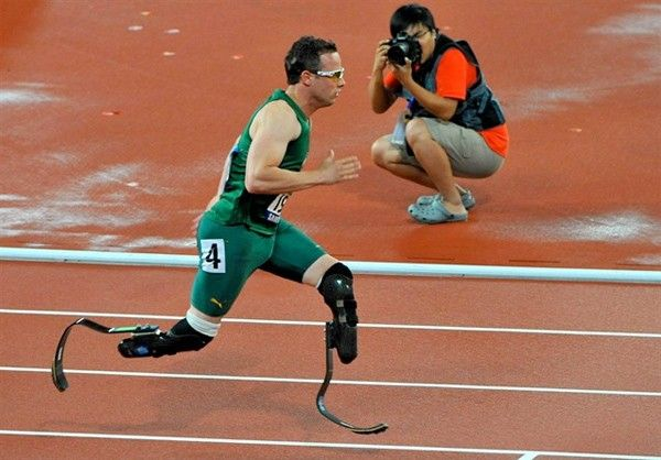 Double amputee will race in the London Olympic games.