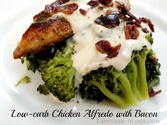 #chicken and broccoli and alfredo from #lowcarb o- ogy. Looks easy and awesome! Shared via https://facebook.com/lowcarbzen