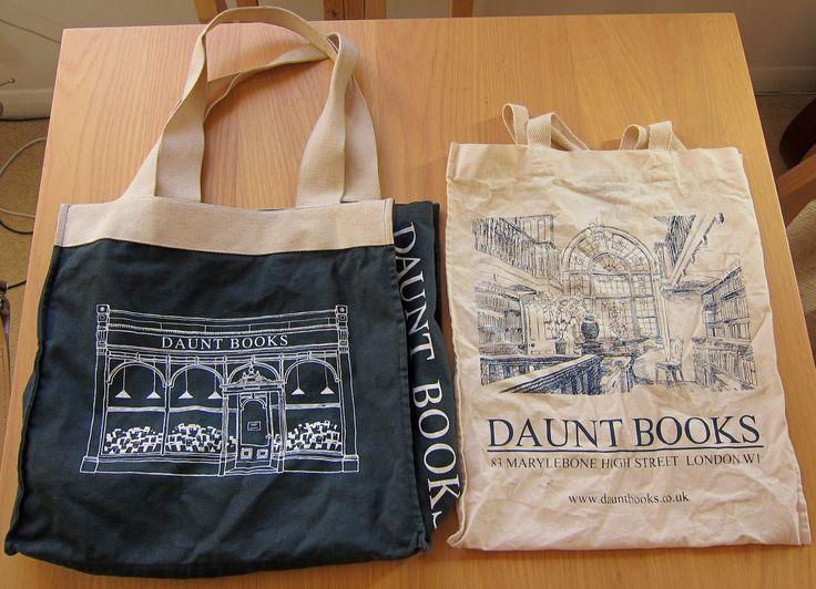 Daunt Books tote bags