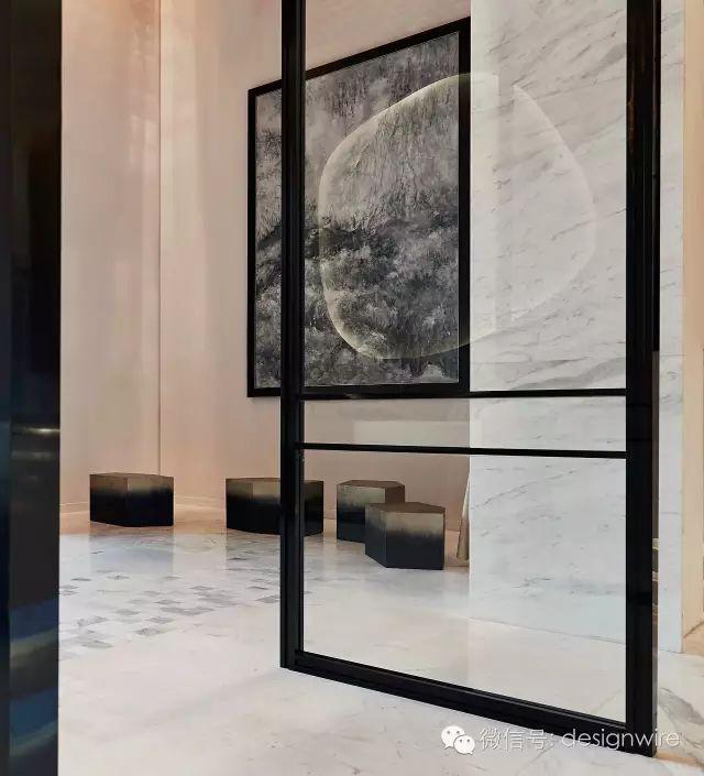 Wu Bin [starting]: a complex meditation | Skytel Beijing Xishan club design