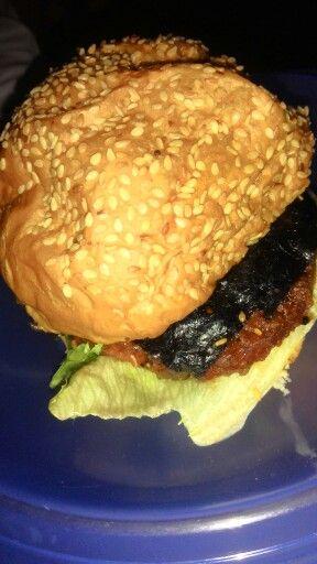 Seaweed burger:
